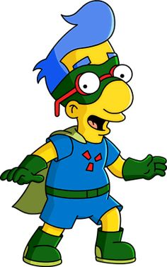 File:Tapped Out Sidekick Milhouse. Simpsons Tattoo, Simpsons Art, Cartoon Shows, Cartoon Pics, Simpsons Characters, Famous Cartoons, Futurama, Pictures To Draw, Caricature