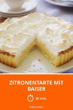Zitronentarte mit Baiser
