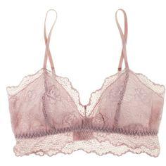 Eberjey Gigi Bralet ($25) ❤ liked on Polyvore featuring intimates, bras, lingerie, underwear, tops, long line bra, sexy longline bra, sexy bras, bralette bras and eberjey