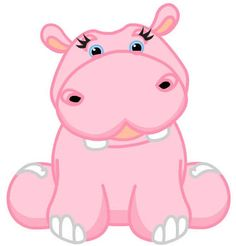 drawings of hippos | Webkinz Pink Hippo