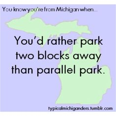 So true! Been driving for 15 years and have only parallel parked twice.