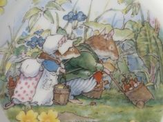 Royal Doulton Brambly Hedge The Outing 8 Plate by TheForgottenRoom, $55.00