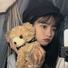 Teddy Bear, Girls, Anime, Cute Girls, Toddler Girls, Daughters, Maids, Teddy Bears, Cartoon Movies
