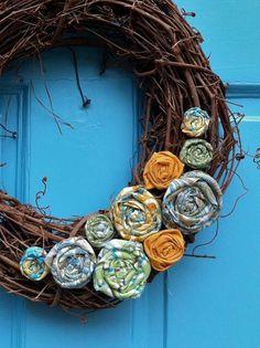 Easy, homemade wreath