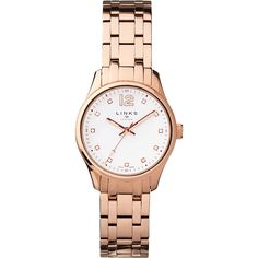 Cool Buy Links of London Greenwich Noon Rose Gold Bracelet Watch, Rose Gold for just added. Bridesmaids Charms, Links Of London, Rose Gold Watches, Valentine Day Gifts, Luxury Branding, Bracelet Watch, Best Gifts, Jewelry Accessories, Crystals