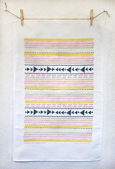 Leah Duncan || Studio SloMo - tea towel