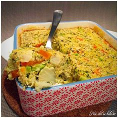 Clafoutis de legume cu lapte vegetal Guacamole, Broccoli, Mexican, Ethnic Recipes, Food, Bebe, Essen, Yemek, Mexicans