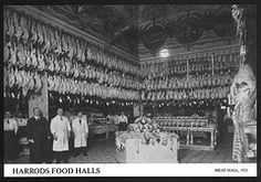 Harrods Meat Hall 1921