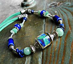 Beautiful Blues by Sharon Murray on Etsy
