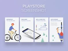 Playstore screenshot for BikeRadar APP designed by Amine Yar. Connect with them on Dribbble; Mobile Ui Design, App Ui Design, Web Design, Store Design, Facebook Carousel Ads, Ad App, Promotional Banners, App Marketing, Store Layout