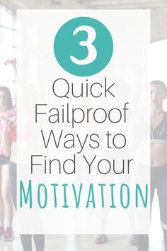 3 Quick Ways to Find Your Motivation I Love To Run, Make You Feel, How Are You Feeling, Work On Yourself, Finding Yourself, Self Motivation, Health Goals, Post Workout, Get Over It