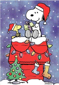 Noël / Snoopy.