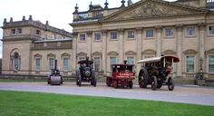 The traction Engion Rally at Harewood House :-) Scarborough Castle, Harewood House, Buckingham Palace, Rally, Mansions, House Styles, Manor Houses, Villas, Mansion