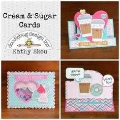Ekskou's Gallery: *** Doodlebug Design *** Cream & Sugar Cards