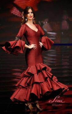 289ff30acf Las 18 mejores imágenes de Trajes de Flamenca Lina Esencial ...