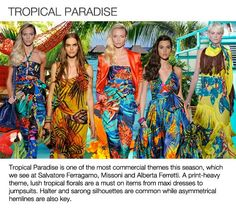 Spring/Summer 2013 Trends, Tropical