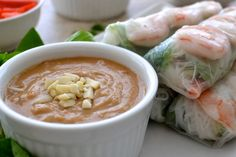 5 Ingredient Easy Peanut Sauce - The Fresh Find Homemade Peanut Sauce, Easy Peanut Sauce, Peanut Sauce Recipe, Shrimp Recipes, Sauce Recipes, Veggie Recipes, Whole Food Recipes, Vegetarian Recipes, Chinese Recipes