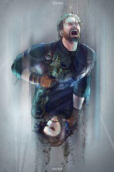 Steve Rogers and Bucky Barnes Marvel Dc, Marvel Fan Art, Marvel Memes, Marvel Comics, Chris Evans, Captain America And Bucky, Happy End, Winter Soldier Bucky, Fangirl