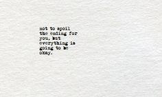 typewritten quotes