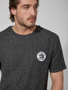 Toronto Raptors Flecked Drop-Shoulder T-Shirt | Frank And Oak