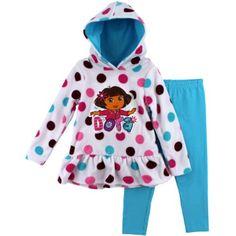 """Dora the Explorer """"Flower Girl"""" White Toddler Fleece Hoodie & Pants Set (12M) Nickelodeon http://www.amazon.com/dp/B00EHHW2LC/ref=cm_sw_r_pi_dp_YhVevb10MK75Q"""