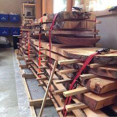 DIY Kiln Dry rough milled stock
