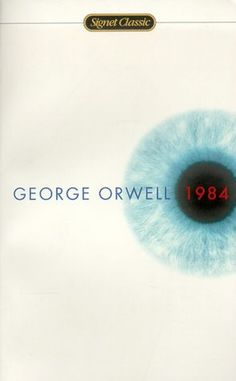 View our feature on George Orwell's in 1984 was George Orwell's chilling prophecy about the future. George Orwell, Book Club Books, Book Lists, Books To Read, My Books, Science Fiction, Classic Books, Classic Literature, British Literature