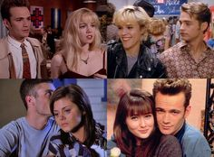 "Ranking Beverly Hills, 90210's Best Couples! from We Ranked All of Beverly Hills, 90210's Best Couples  Kelly and Brandon, Kelly and Dylan or neither (""I choose me!"")? Beverly Hills, 90210 had more than its fair share of iconic relationships over its ten seasons. From Donna and David to Jim and Cindy—and even Andrea and Jesse—E! News ranks the show's most important couples to figure out the best 90210 relationship of all time."