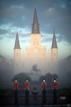 one of my fav shots I took of St. Louis Cathedral in New Orleans
