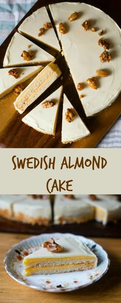 Nordic Diet: Swedish Almond Cake and Bake to Impress Giveaway -...