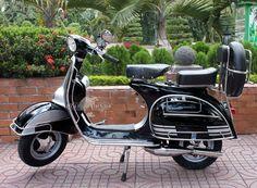 1966 VBC Vespa Super- Black & Silver   http://www.shutterstock.com/?rid=1525961