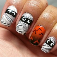 halloween by nailsbynoy  #nail #nails #nailart