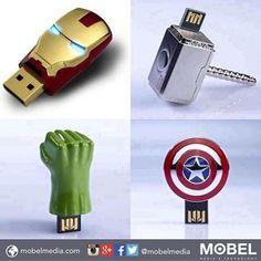 The #Avengers #pen drive  Enjoy the weekend!