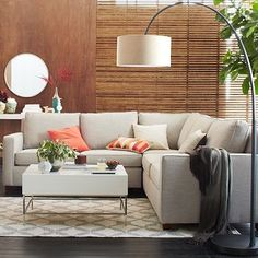 Henry 3-Piece L-Shaped Sectional. This looks most like our old sectional that needs replacing.