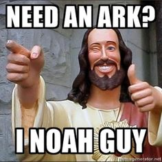 Noah guy...I see what he did there ;)
