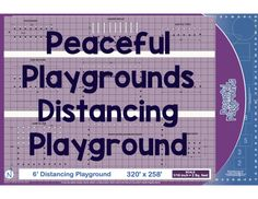 🎯 Product Spotlight: Distancing Playground! 6' Social Distancing Playground follows CDC Guidelines for Schools Advisory for Covid-19. . . . . . . #backtoschool #covid19 #distancinginschool #socialdistancing #playground #covidsolutions #school #teachers #coaches #diy #safeschool School Site, Safe Schools, Staff Training, Guide Book, Learning Activities, Card Games, Back To School, Coding, Peace