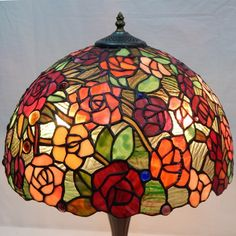 Rose Tiffany Lamp 16S0-32