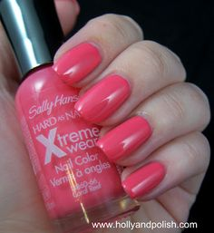 Holly and Polish: Sally Hansen Xtreme Wear Coral Reef