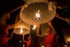 buddhist lanterns