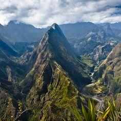 Lost in the Reunion Island: These mountains seem unreal..  Pin It To Win It: https://docs.google.com/forms/d/1-p7ci16H2KQkNgoJ9Q8HDXW3UQkf-BML8qTUVCr5HOc/viewform