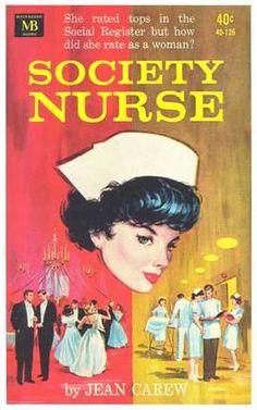 society Nurse vintage book