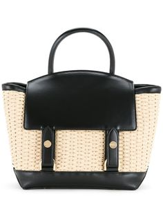 425e9e9bdd6f Sacai Small Woven Tote Bag - Farfetch