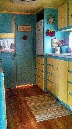 Front End Of A Vintage Holiday Rambler Travel Trailer