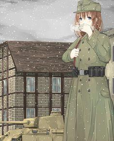 Heer grenadier battle of the Ardenne december 1944 Anime Military, Military Girl, Female Soldier, Tactical Operator, Girl Cartoon, Anime Art, Battle, Police, December