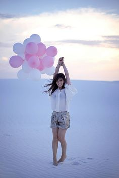White sands New mexico  wish i was there. wish i were pretty like her.