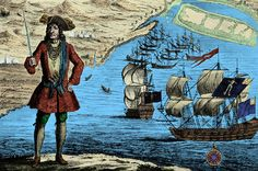 Pirate strongholds throughout the world