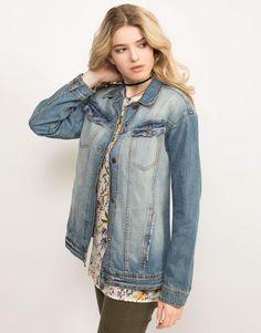 Джинсовая куртка OVERSIZE - Глория Джинс, GJC002880 | Gloria Jeans