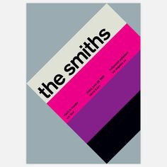 The Smiths, 1985 17x23.75 now featured on Fab.