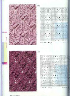 "Photo from album ""Неразобранное в Knitting Pattrens Book on Yandex. Baby Knitting Patterns, Knitting Stiches, Cable Knitting, Knitting Charts, Vintage Knitting, Knitting Designs, Stitch Patterns, Crochet Patterns, Crochet Instructions"