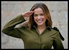 Female IDF soldier.  Sign me up for her unit!
